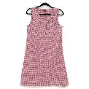 Merona Gingham Check Sleeveless Shift Dress (AA25)